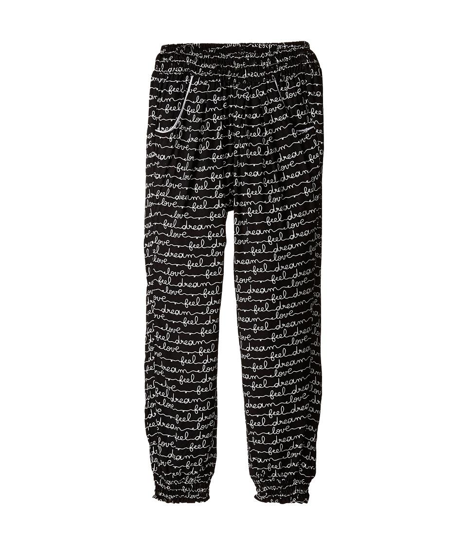 Pumpkin Patch Kids - Dance Academy Love Dream Print Pants (Little Kids/Big Kids) (Black Ink) Girl's Casual Pants