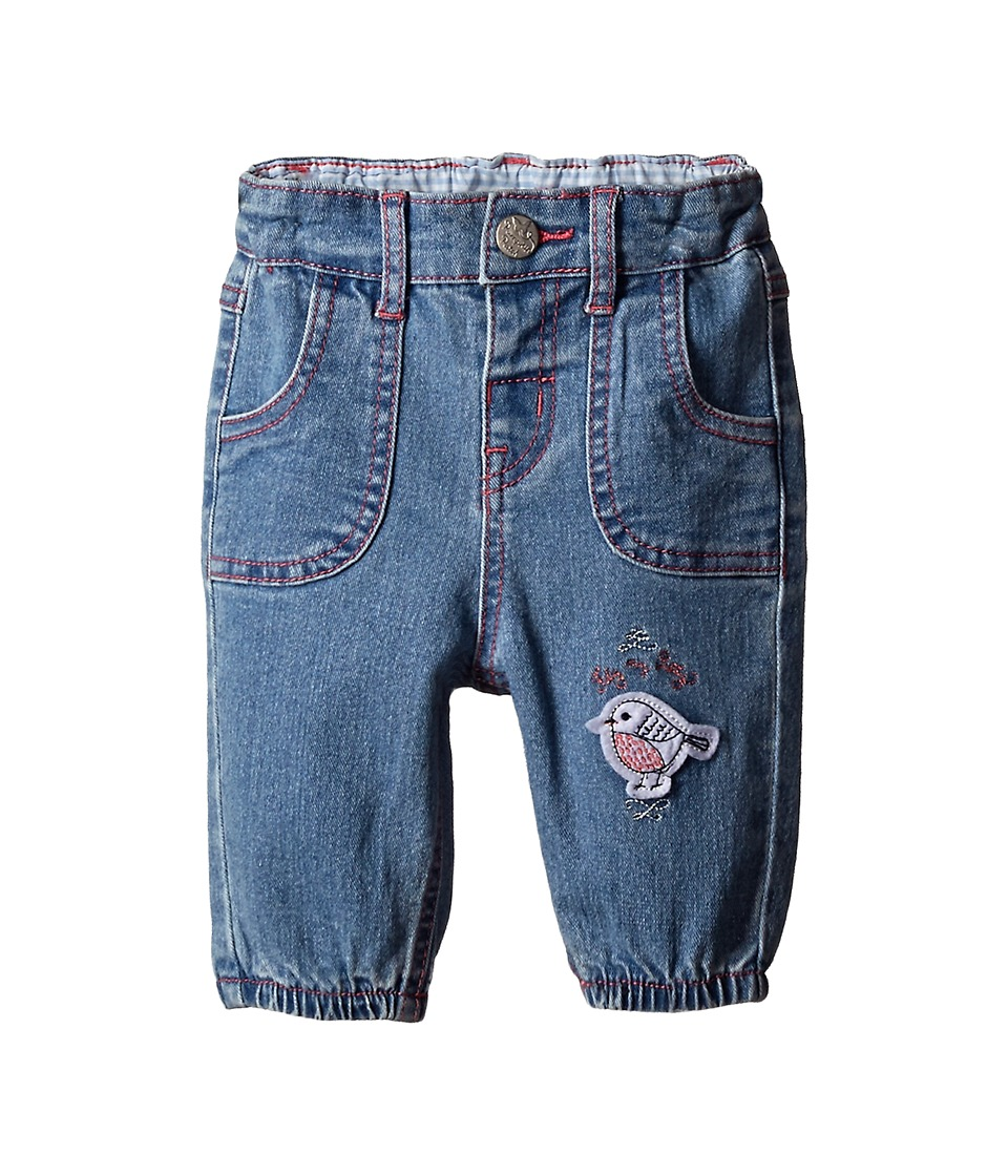Pumpkin Patch Kids - Urban Folk Soft Denim Jeans (Infant) (Blue Denim Wash) Girl