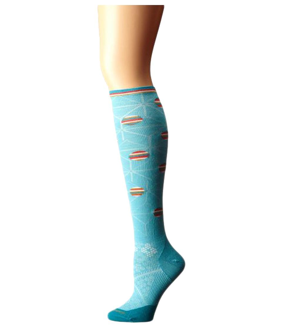 Smartwool - PhD Run Ultra Light Knee High (Light Capri) Women's Knee High Socks Shoes