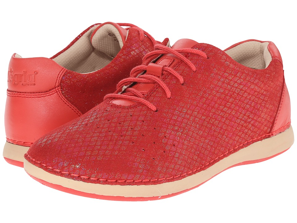 Alegria - Essence (Cherry) Women's Lace up casual Shoes