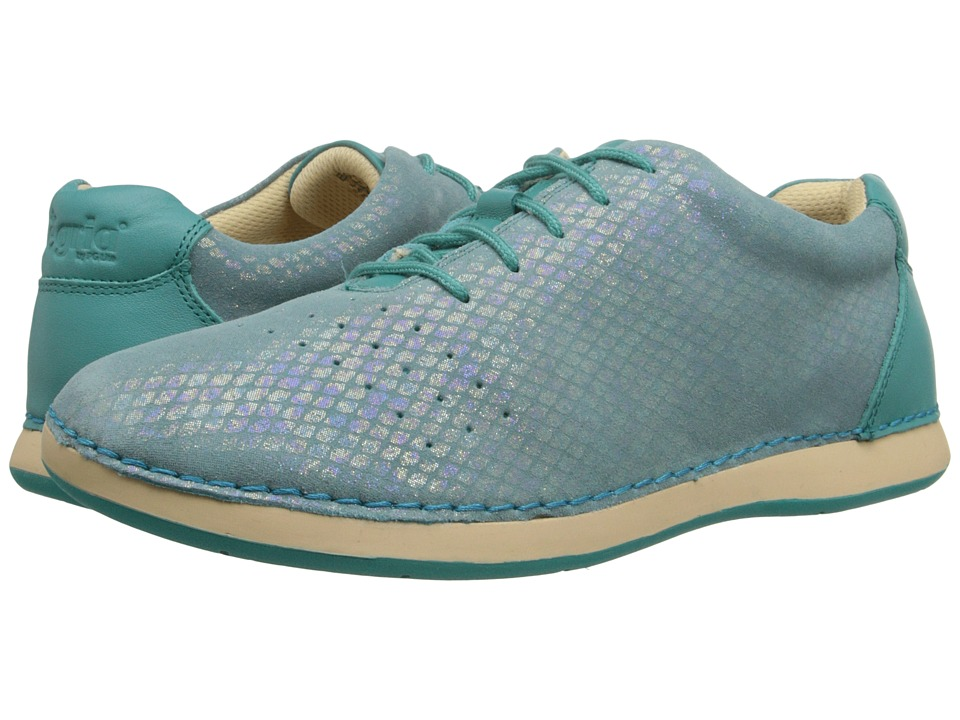 Alegria - Essence (Aqua) Women's Lace up casual Shoes