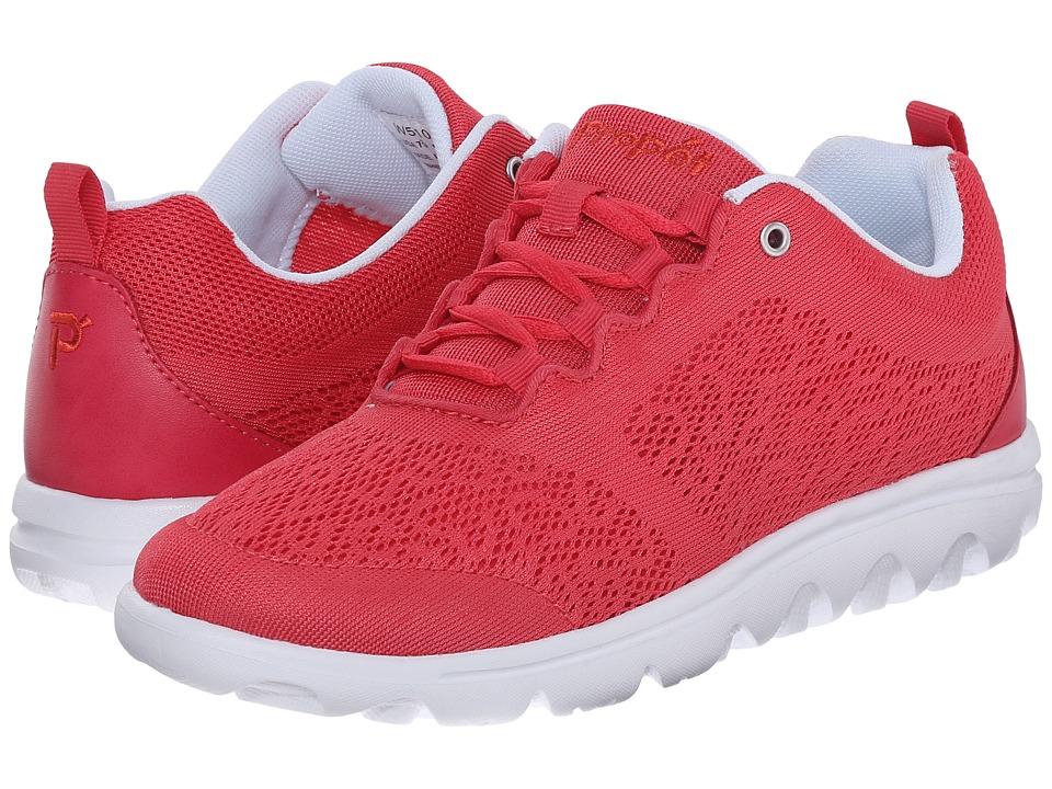 Propet - TravelActiv (Watermelon Red) Women's Shoes