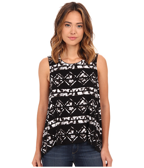 Hurley - Moonlight Tank Top (Black) Women's Sleeveless