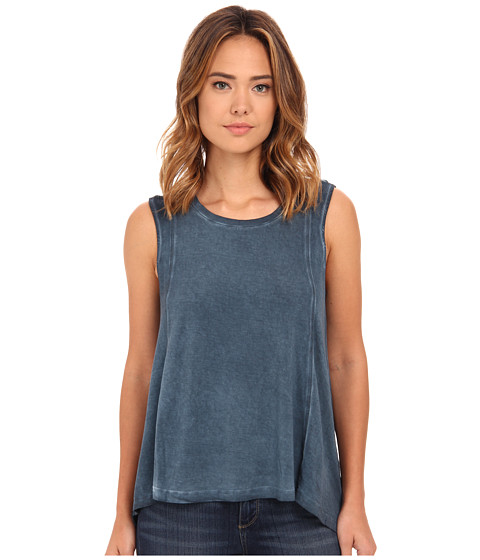 Hurley - Moonlight Tank Top (Midnight Teal) Women's Sleeveless
