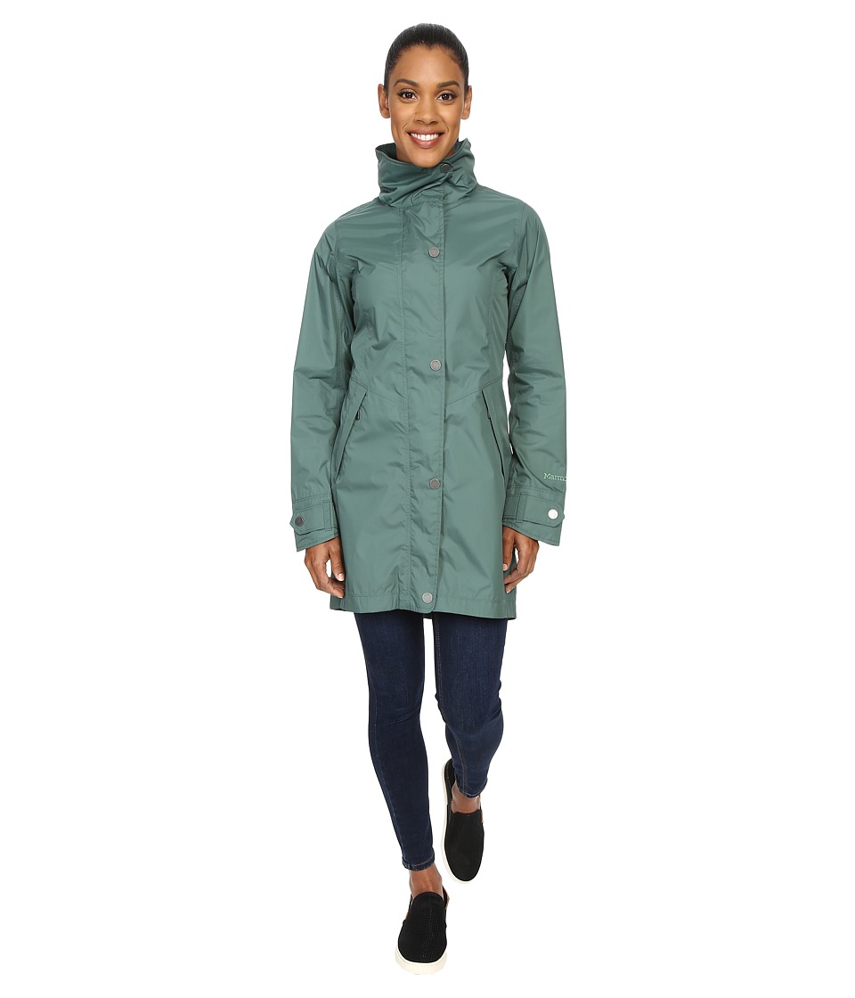 Marmot - Mattie Jacket (Burnished Green) Women's Coat