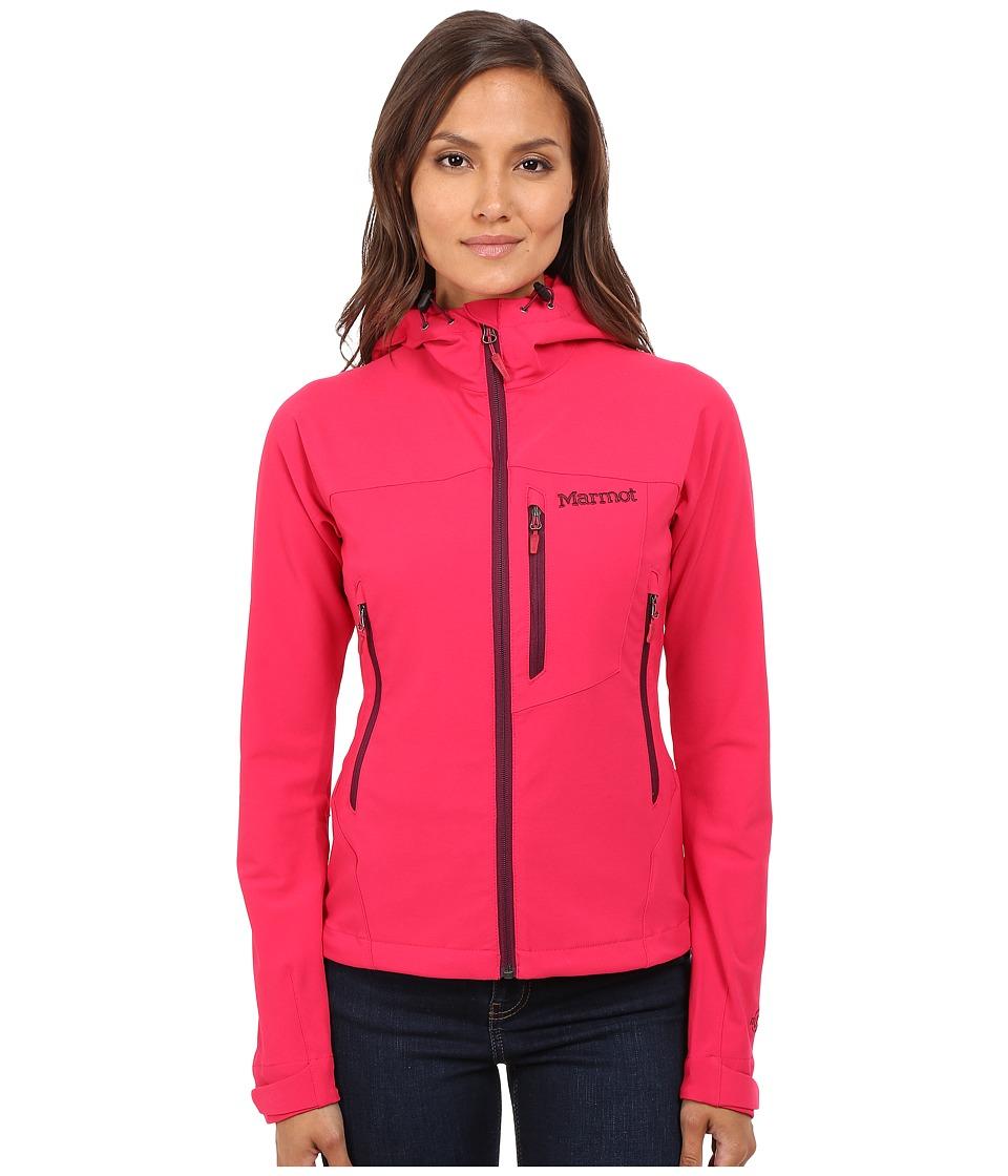 Marmot - Estes Hoodie (Raspberry) Women's Sweatshirt