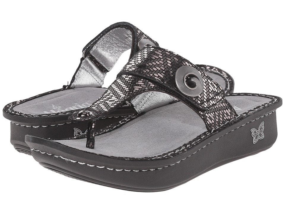 Alegria - Carina (Pewter Dazzler) Women's Sandals