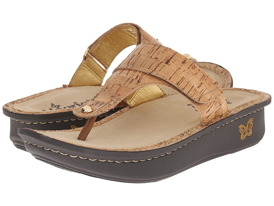Alegria - Carina (Cork) Women's Sandals