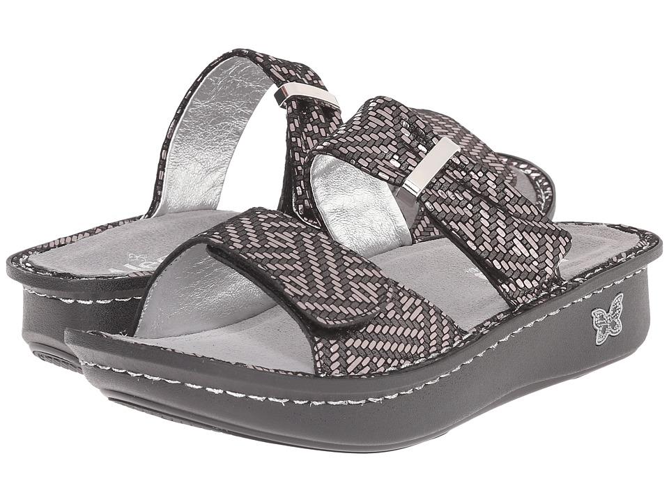Alegria - Karmen (Pewter Dazzler) Women's Sandals