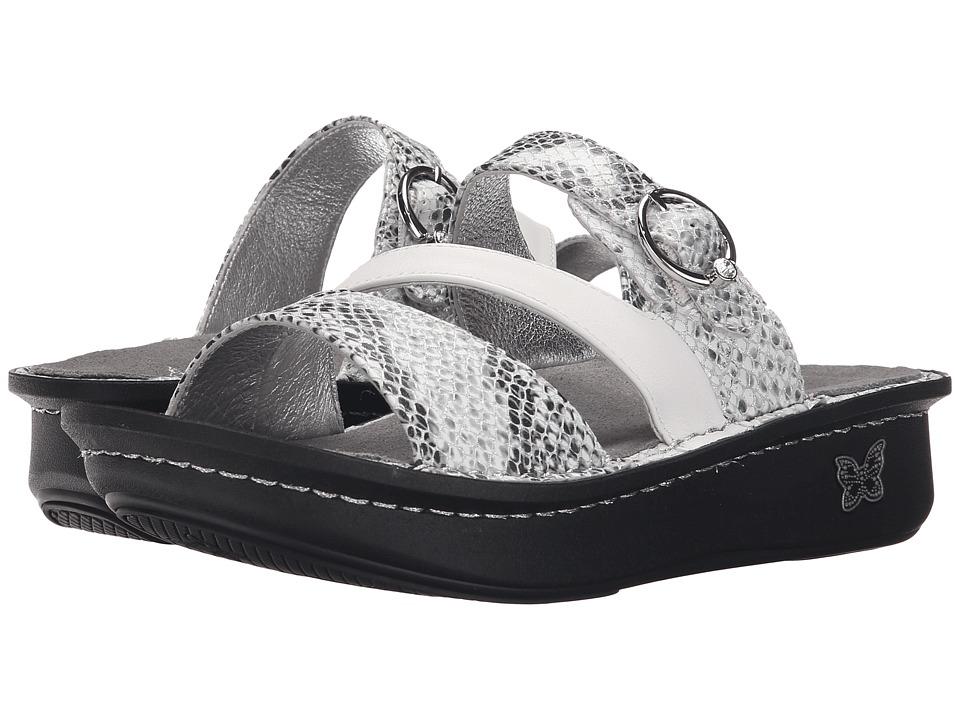 Alegria - Colette (Posh Silver) Women's Sandals
