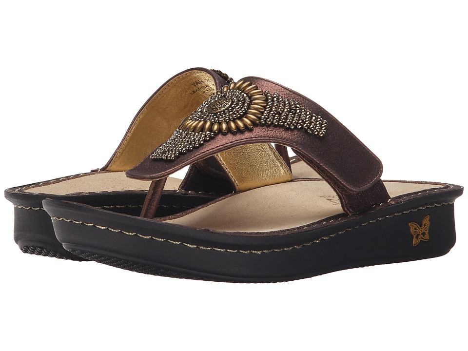 Alegria - Vanessa (Bronze Hand Craft) Women's Sandals