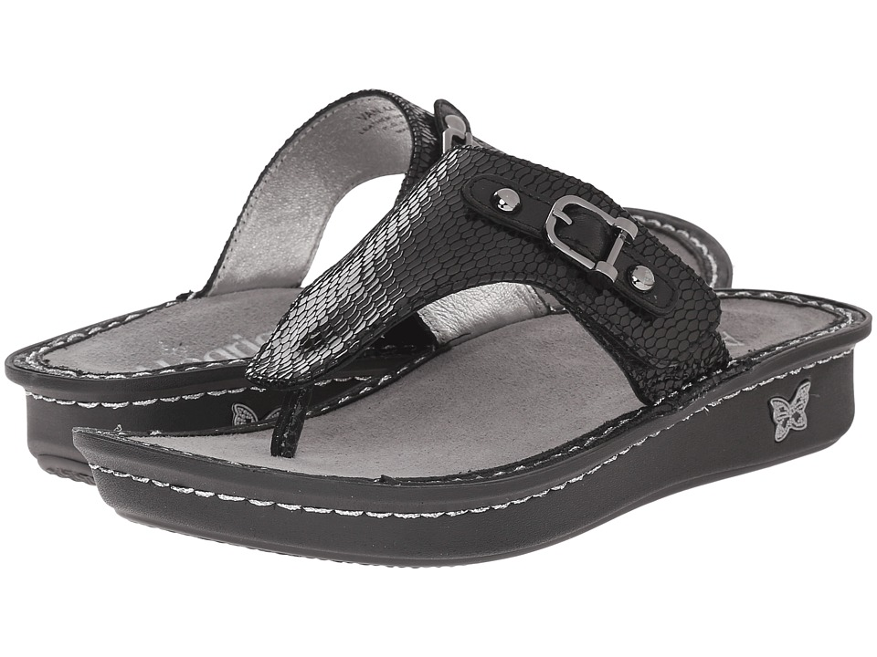 Alegria - Vanessa (Black Jewel) Women's Sandals