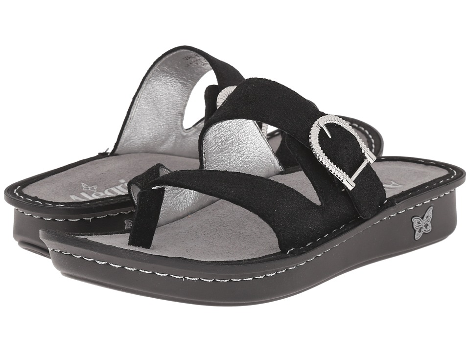 Alegria - Valentina (Brushed Black) Women's Sandals
