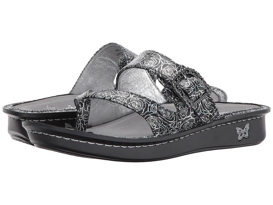 Alegria - Valentina (Steel Rosette) Women's Sandals