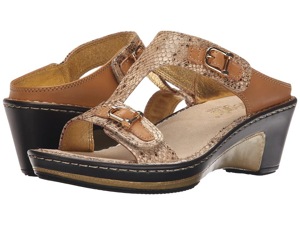 Alegria - Lara (Posh Gold) Women's Wedge Shoes