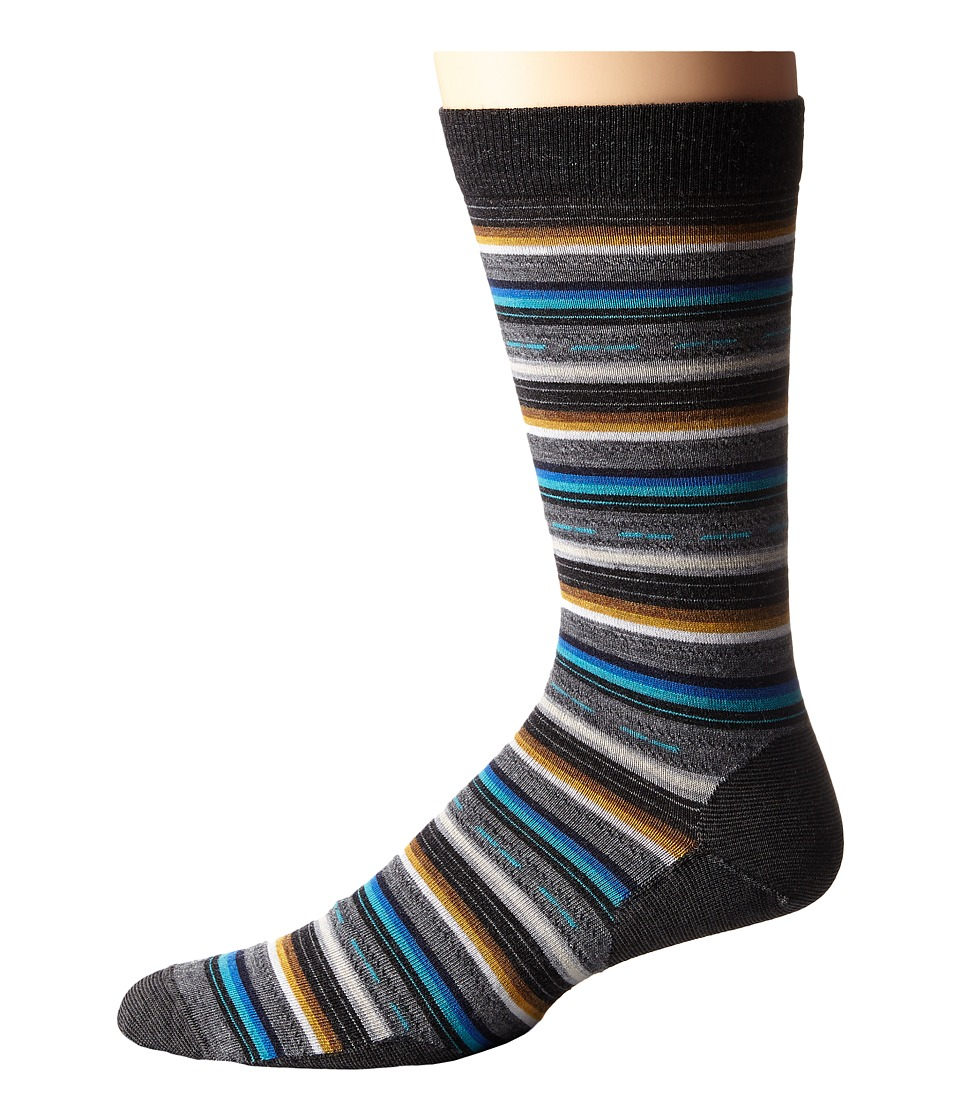 Smartwool - Margarita (Charcoal Heather) Men's Crew Cut Socks Shoes