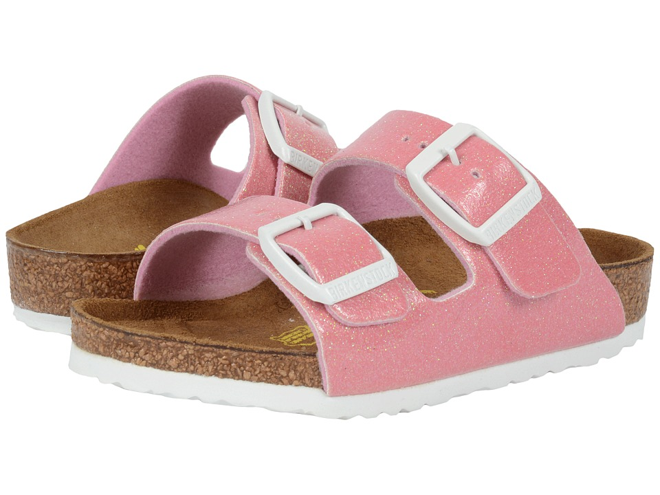 Birkenstock Kids - Arizona (Toddler/Little Kid/Big Kid) (Magic Galaxy Pink Birko-Flor ) Girls Shoes