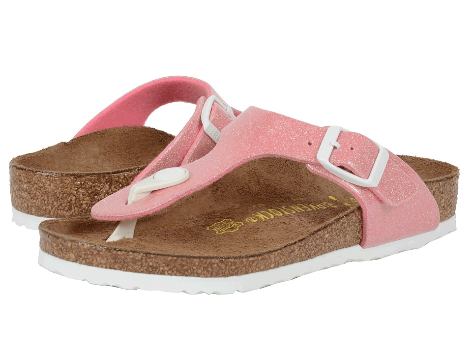 Birkenstock Kids - Gizeh (Little Kid/Big Kid) (Magic Galaxy Pink Birko-Flor ) Girls Shoes