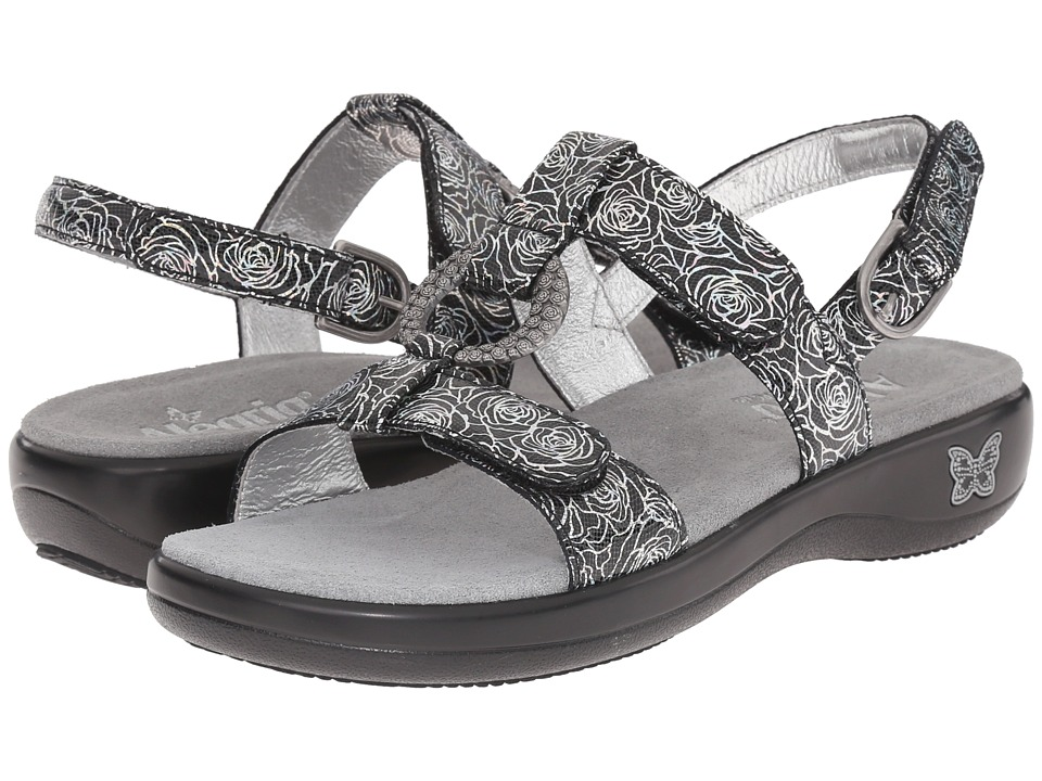 Alegria - Julie (Steel Rosette) Women's Sandals