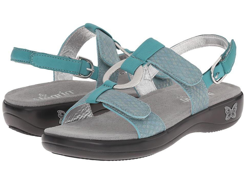 Alegria - Julie (Aqua) Women's Sandals
