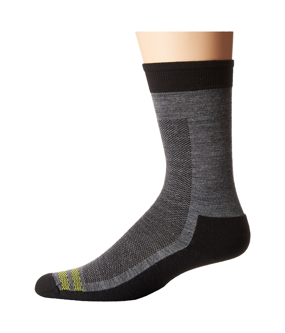 Smartwool - Urban Hiker Crew (Black) Men's Crew Cut Socks Shoes