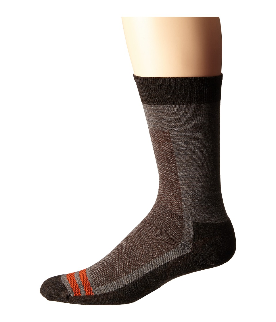 Smartwool - Urban Hiker Crew (Taupe) Men's Crew Cut Socks Shoes