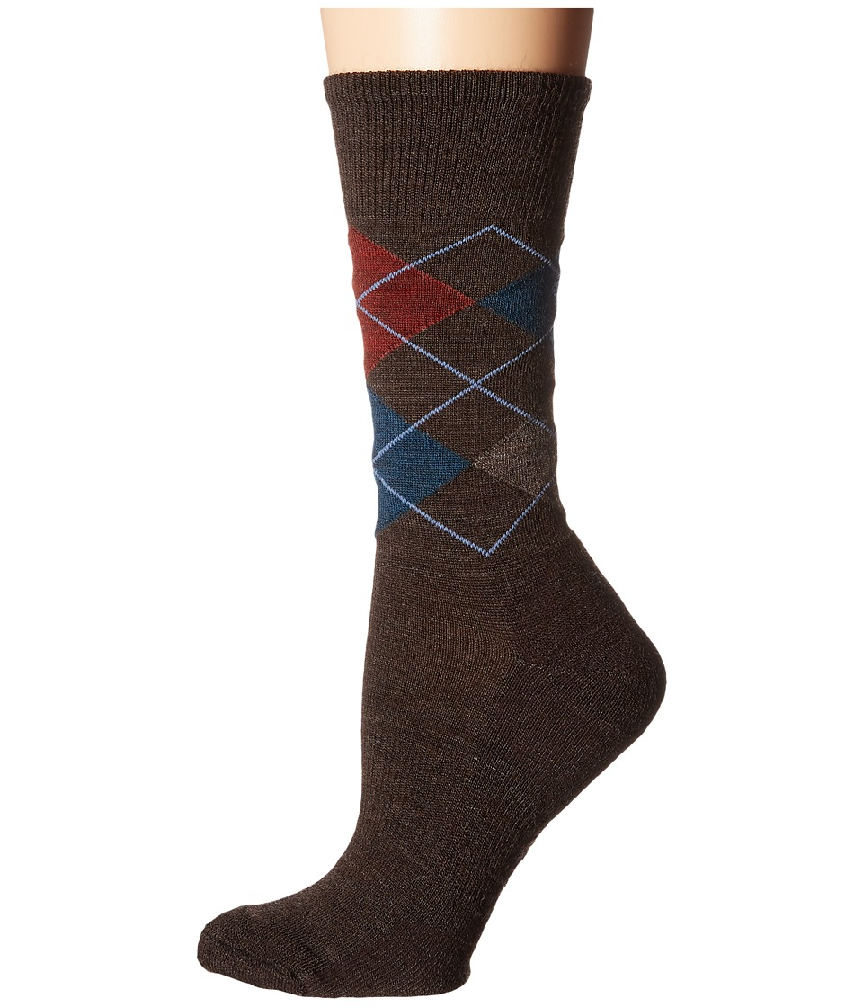 Smartwool - Diamond Jim (Chestnut) Men's Crew Cut Socks Shoes