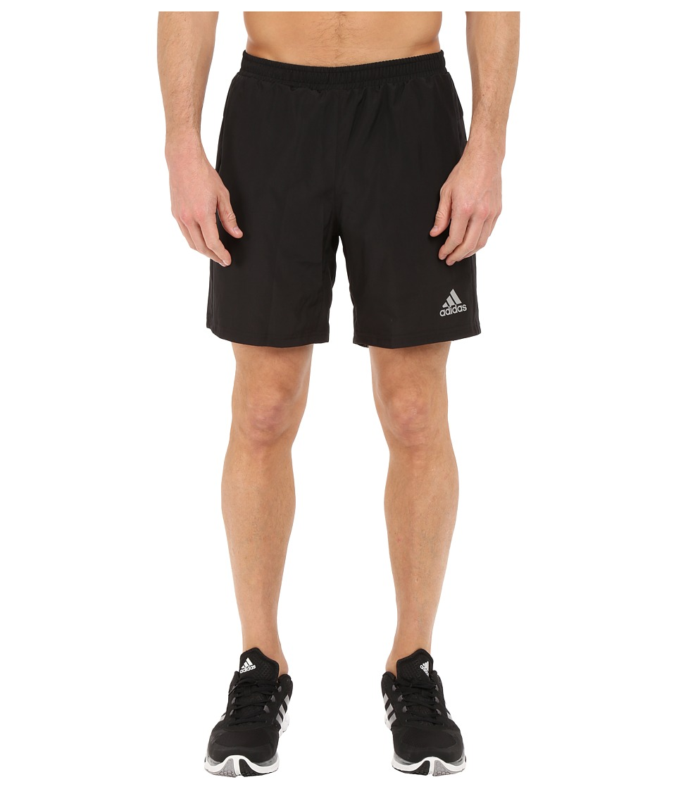 adidas - Run 7 Shorts (Black) Men's Shorts