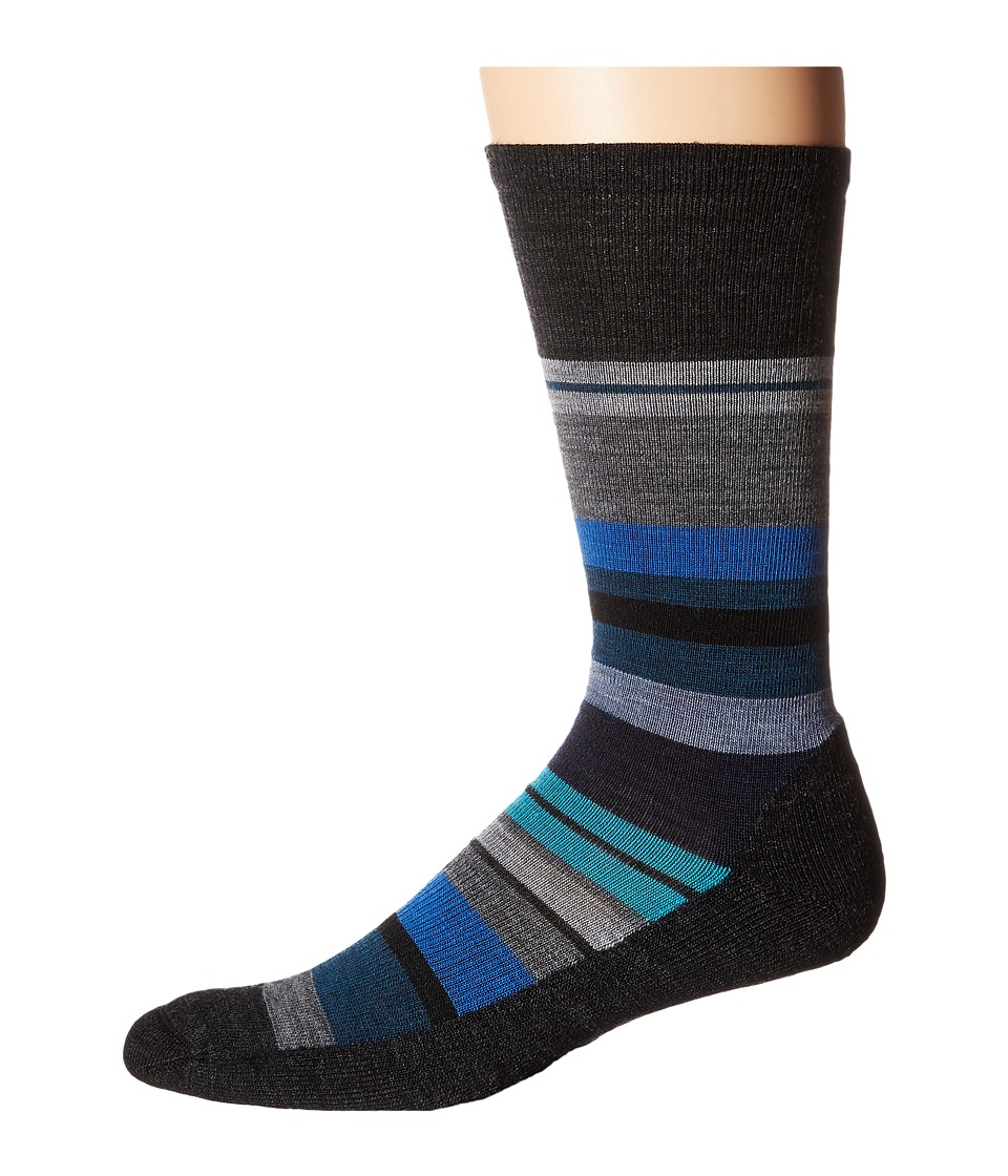 Smartwool - Saturnsphere (Charcoal Heather) Men's Crew Cut Socks Shoes