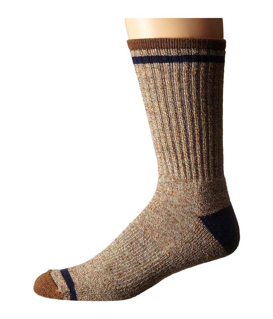 Smartwool - Larimer Crew (Caramel Heather) Men's Crew Cut Socks Shoes