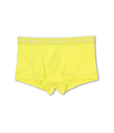 Calvin Klein Underwear - Air Micro Low Rise Trunk (Winter Chartreus) Men's Underwear