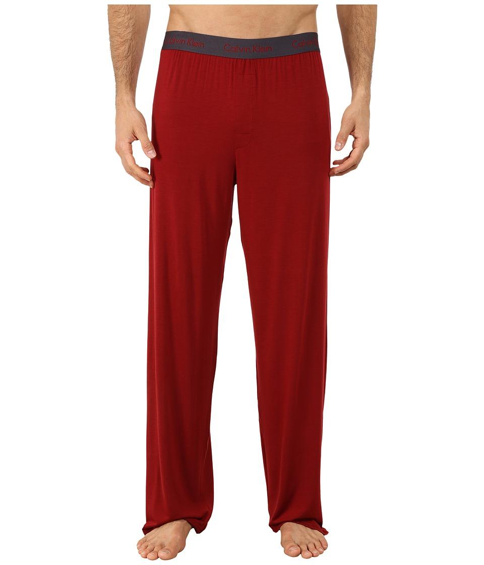 Calvin Klein Underwear - Micro Modal Pant (Vermillion) Men's Pajama