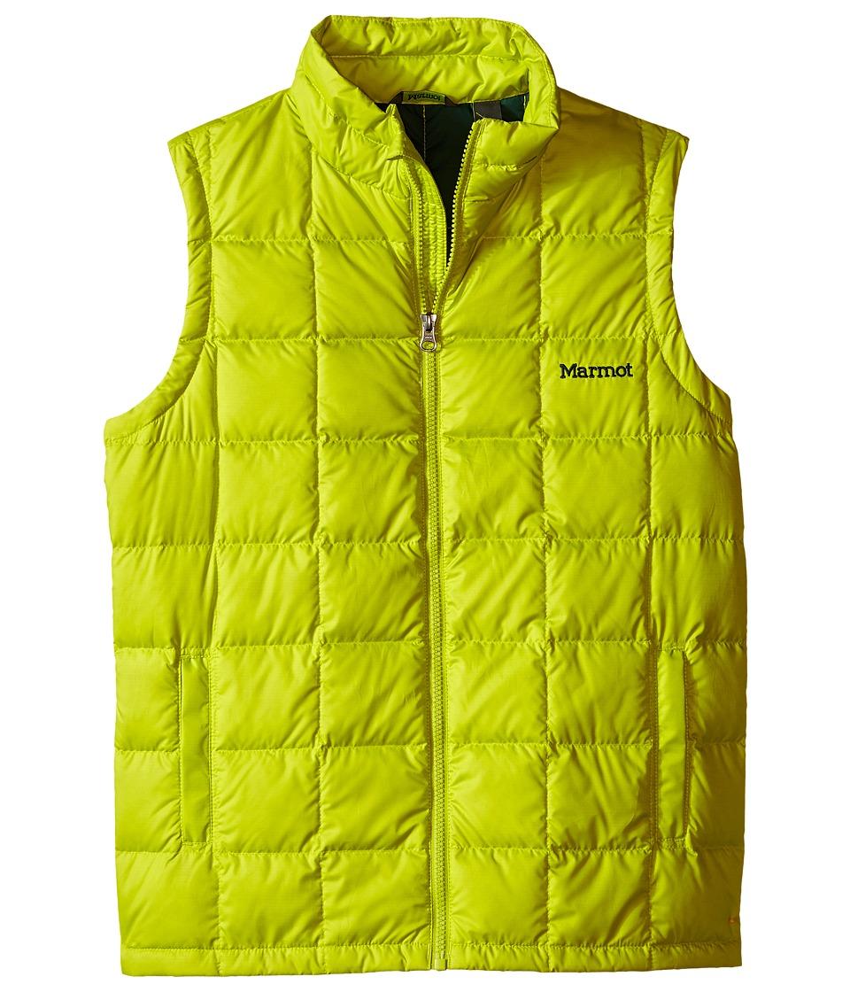 Marmot Kids - Ajax Vest (Little Kids/Big Kids) (Bright Lichen) Boy's Vest