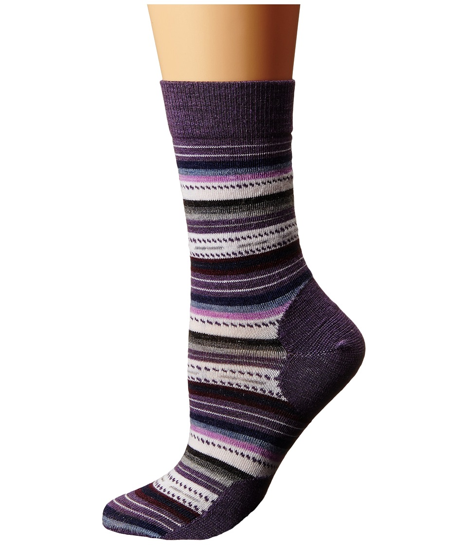 Smartwool - Margarita (Desert Purple Heather) Women's Crew Cut Socks Shoes