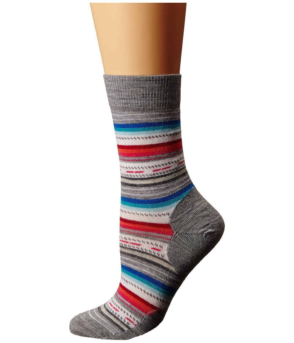Smartwool - Margarita (Light Gray Heather) Women's Crew Cut Socks Shoes