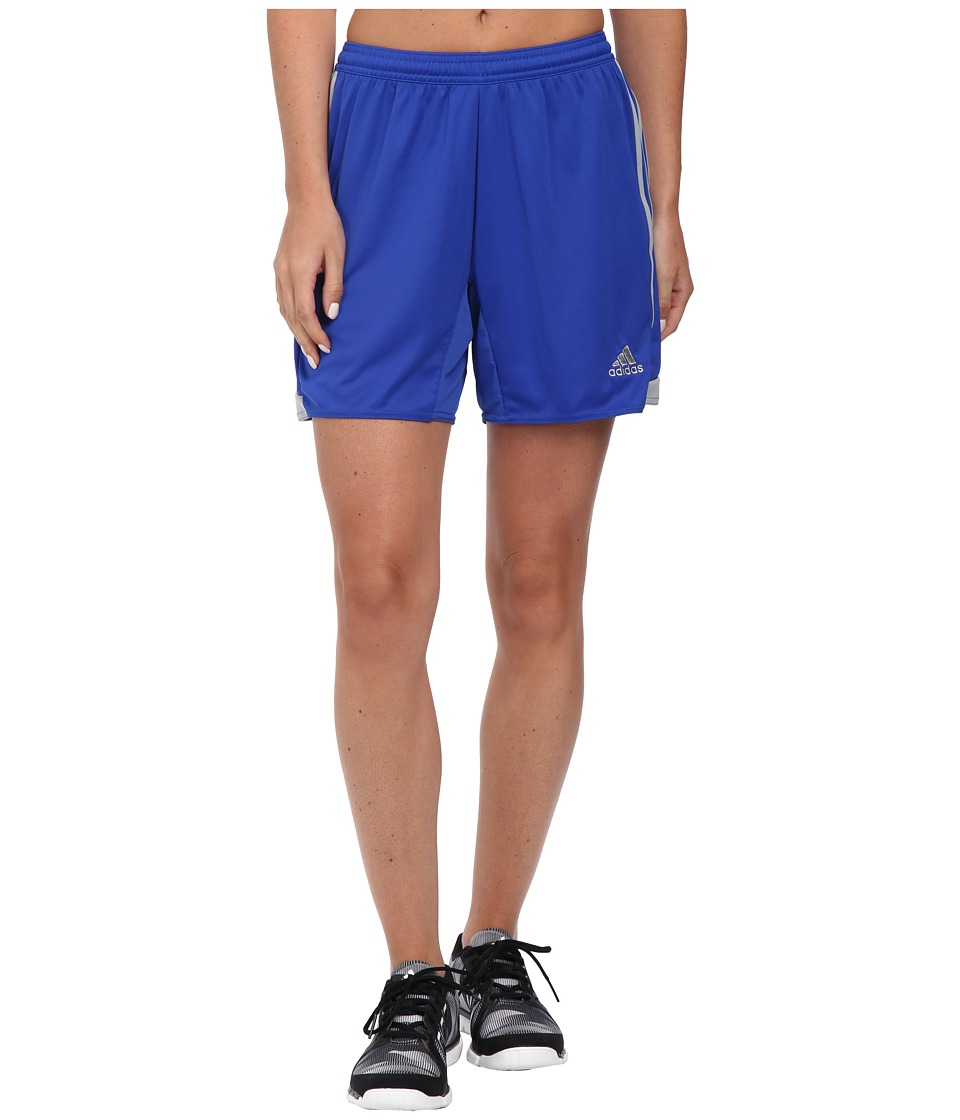 adidas - Tiro 13 Shorts (Bold Blue/Light Grey) Women's Shorts
