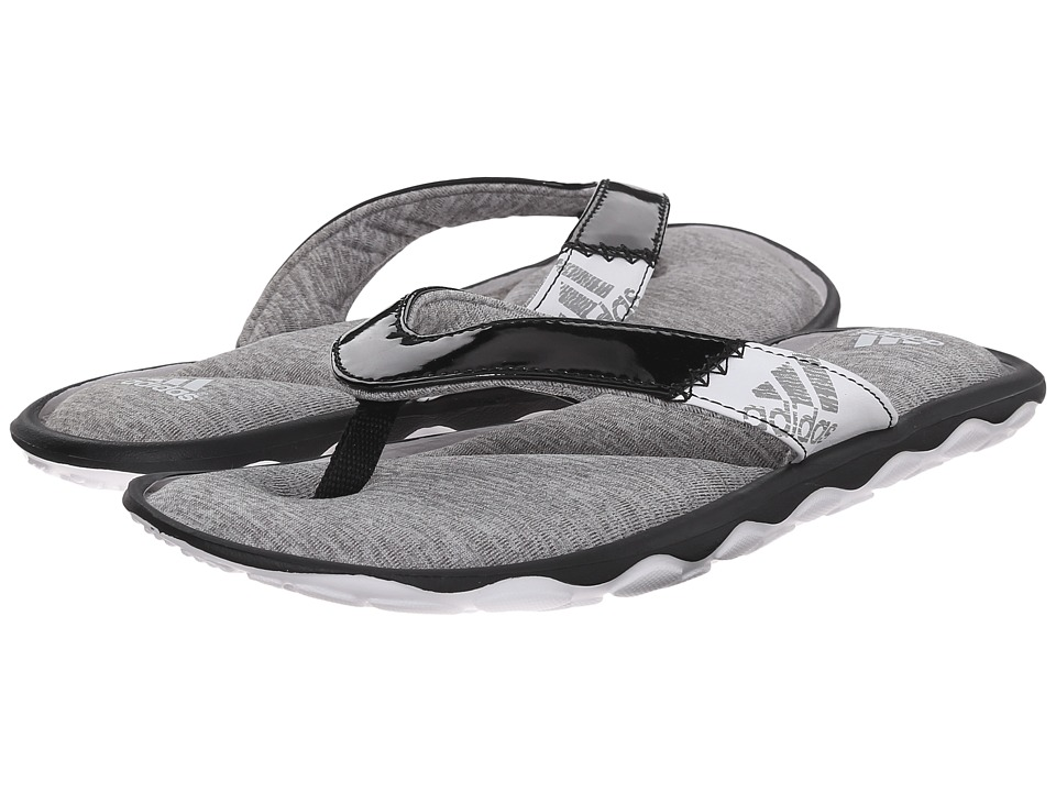 adidas - Anyanda Flex Thong (Black/White) Women's Sandals