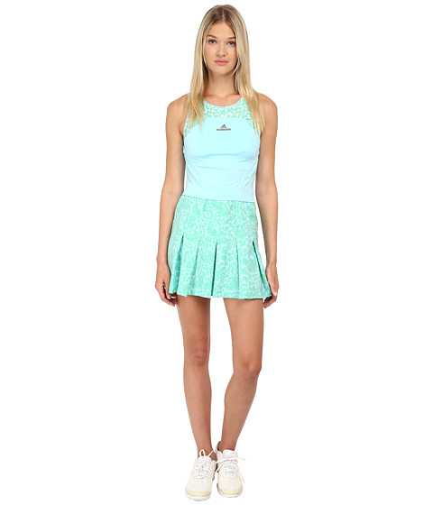 adidas - Stella Mccartney Australia Tennis Dress (Sky Blue/Mint Green) Women's Dress