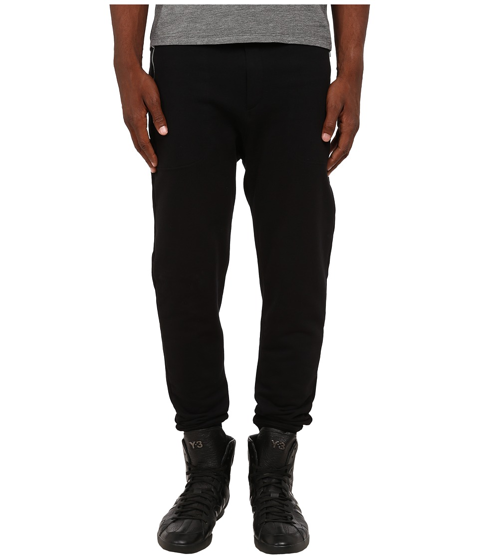 The Kooples - Sport Classic Fleece Sweatpants (Black) Men's Fleece