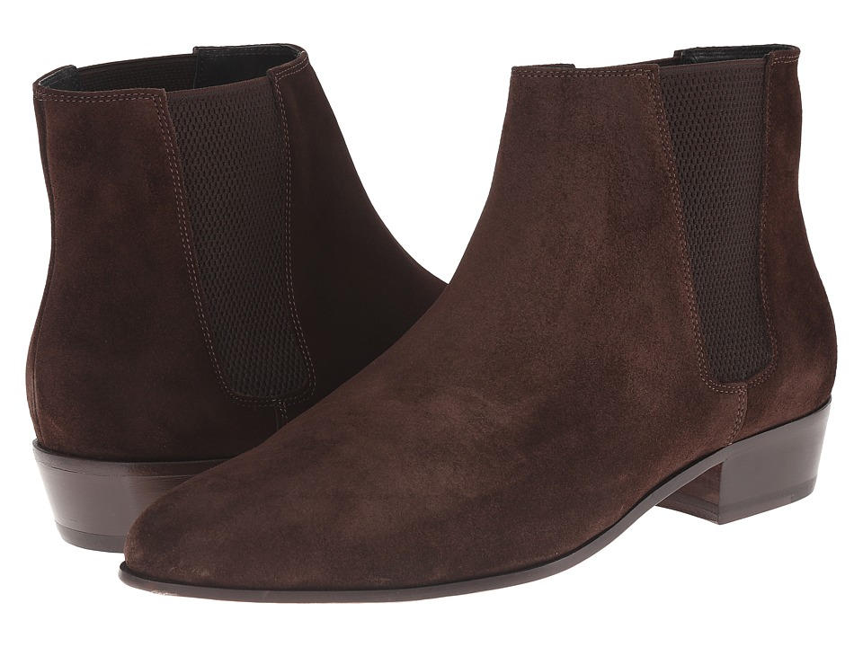 The Kooples - Split Leather Chelsea Boot (Brown) Men's Boots