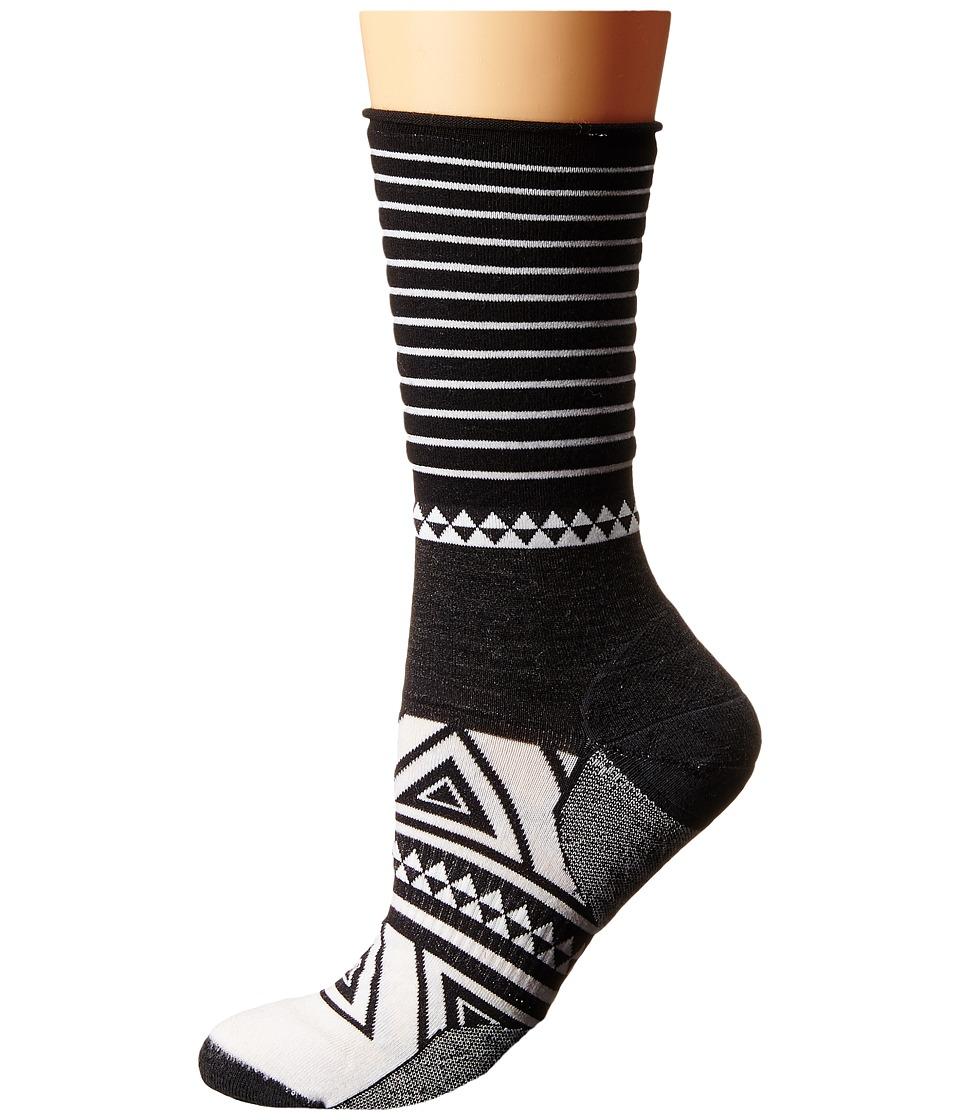 Smartwool - Camp House Crew (Black) Women's Crew Cut Socks Shoes