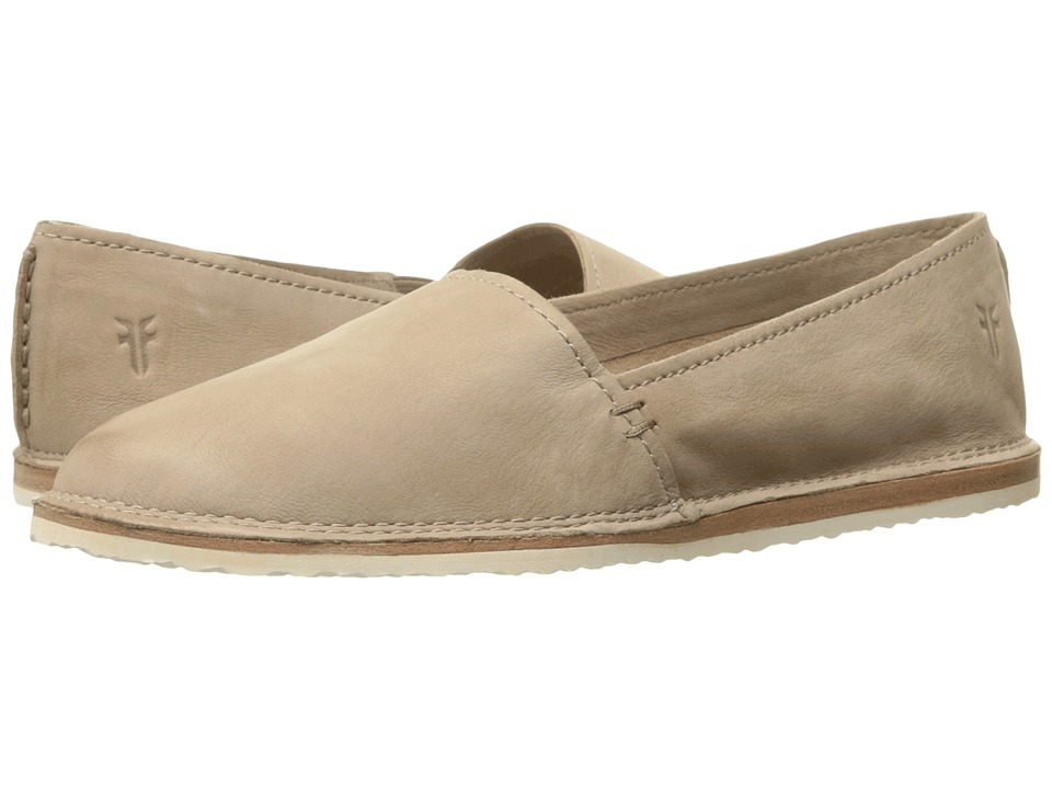 Frye - Milly A Line (Cement Soft Oiled Nubuck) Women's Slip on Shoes