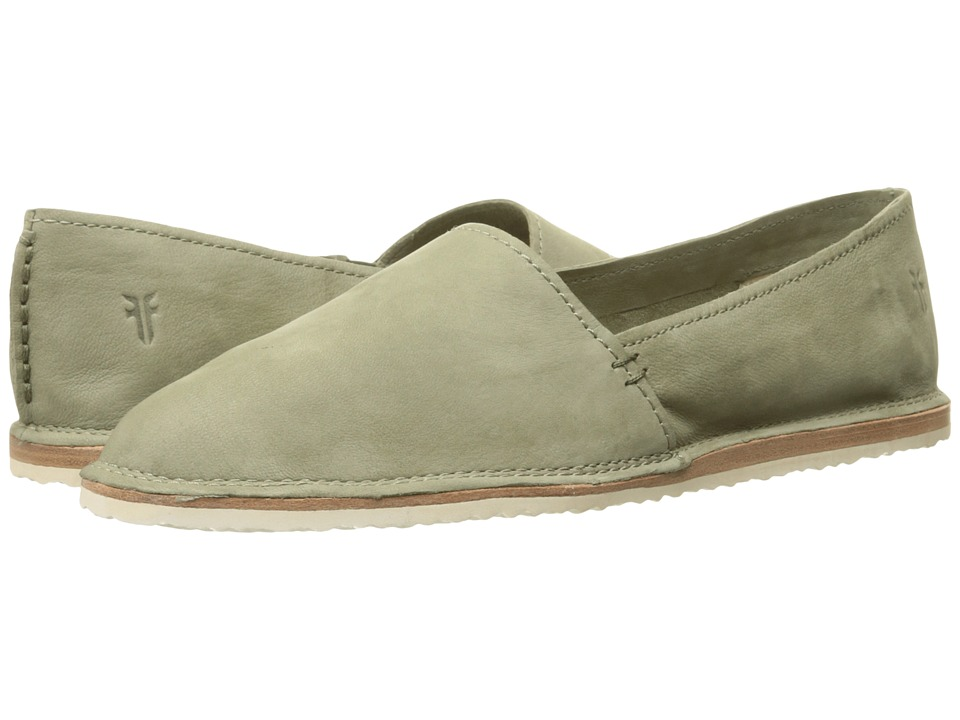 Frye - Milly A Line (Sage Soft Oiled Nubuck) Women's Slip on Shoes