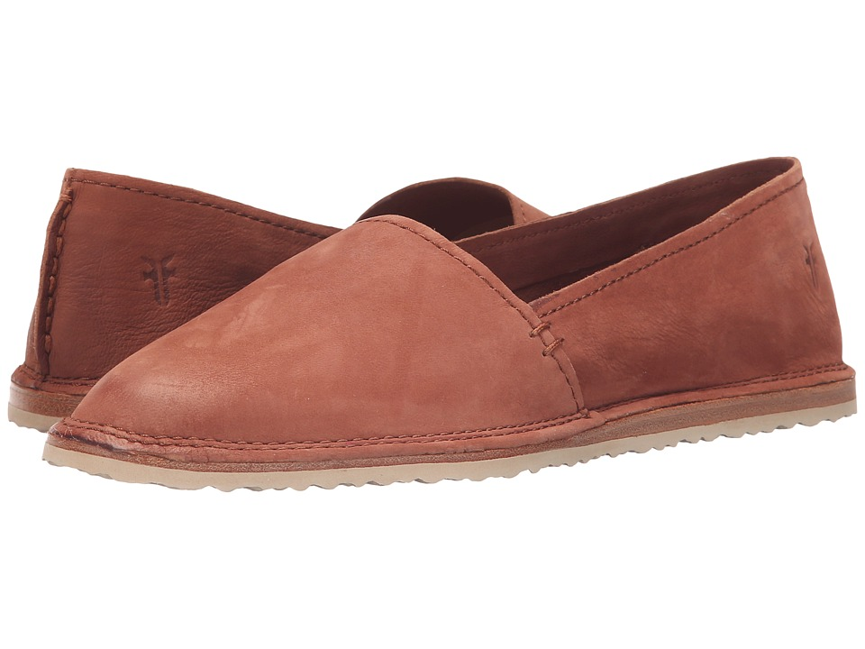 Frye - Milly A Line (Whiskey Soft Oiled Nubuck) Women's Slip on Shoes