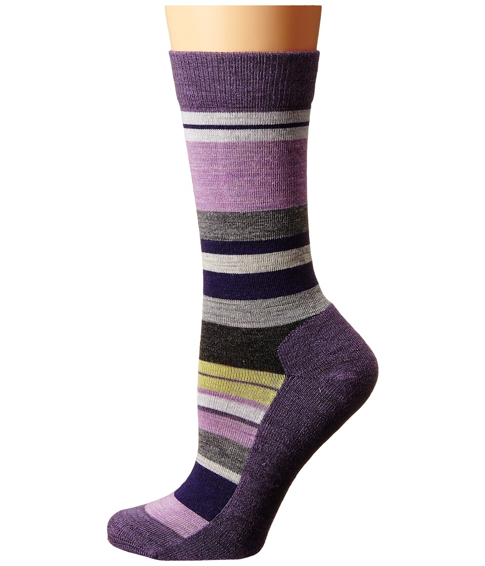 Smartwool - Saturnsphere (Desert Purple Heather) Women's Crew Cut Socks Shoes