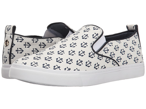 Tommy Hilfiger - Lileten2 (Blue Multi/Anchor Print) Women's Shoes