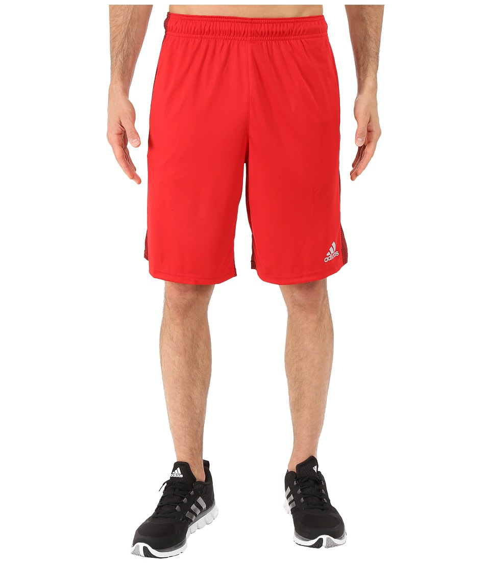 adidas - Climacore Shorts (Scarlet/Black) Men's Shorts