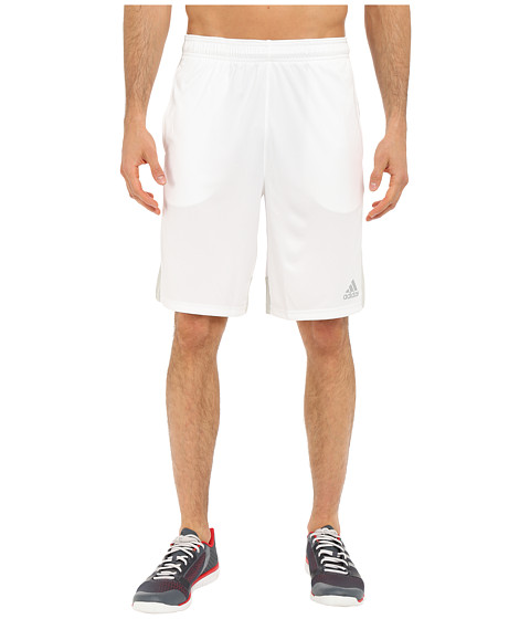 adidas - Climacore Shorts (White/Light Solid Grey) Men