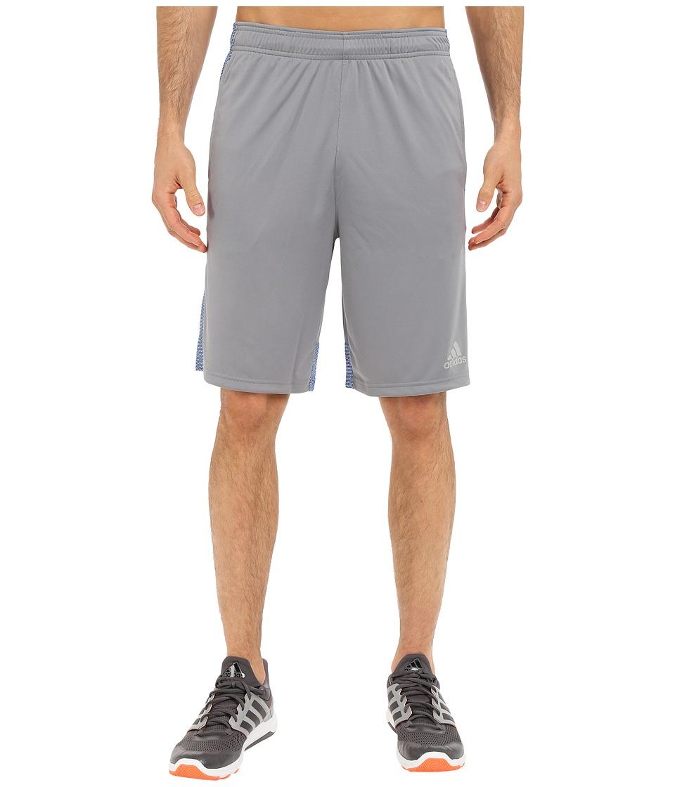 adidas - Climacore Shorts (Grey/EQT Blue) Men