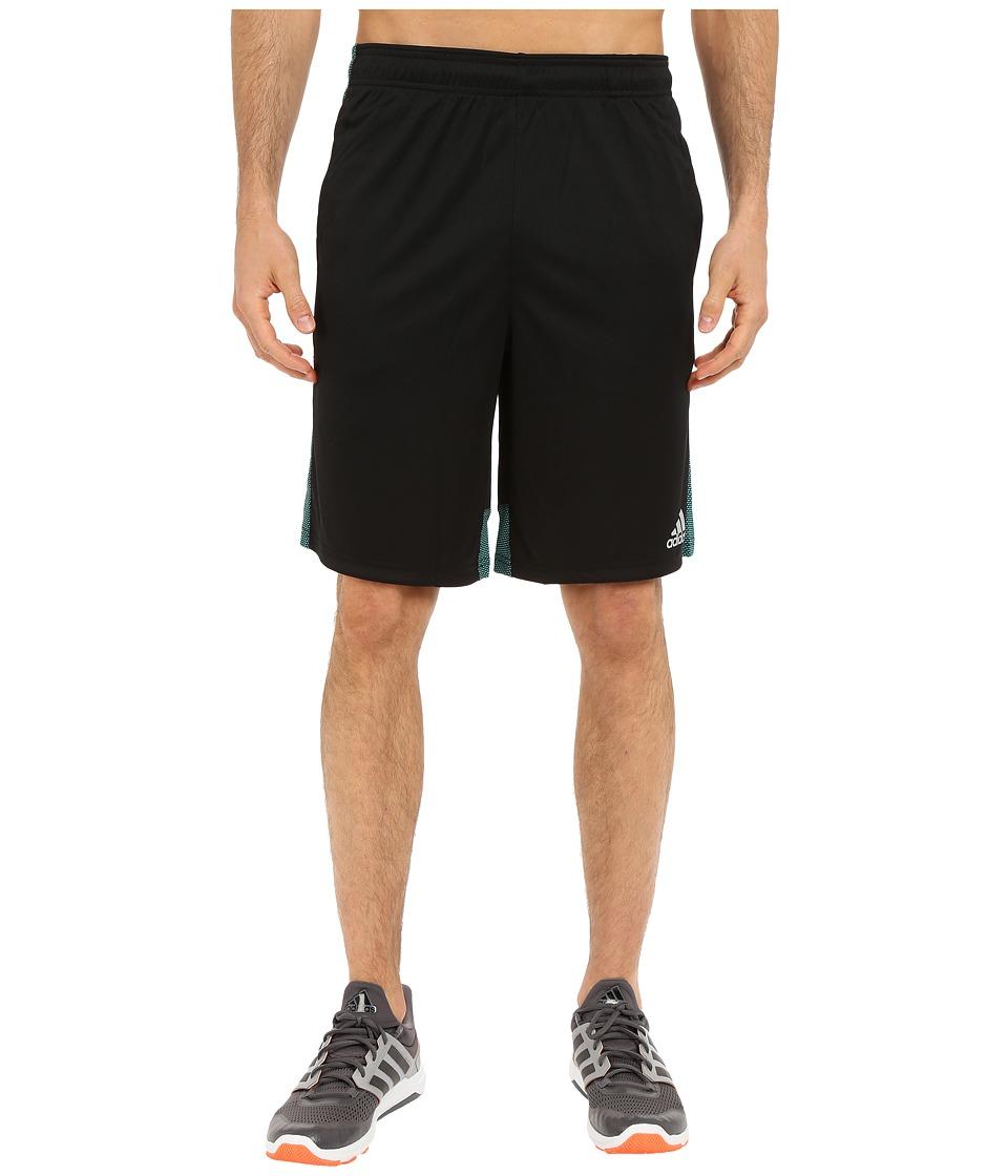 adidas - Climacore Shorts (Black/EQT Green) Men's Shorts